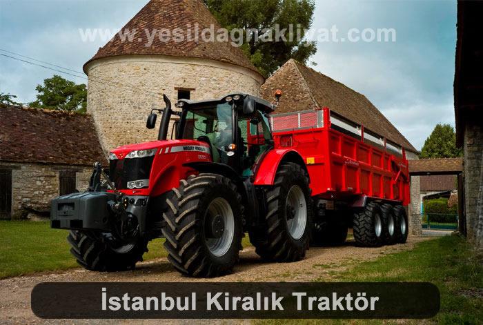 İstanbul Traktör Kiralama, Traktör Kiralamak İstiyorum