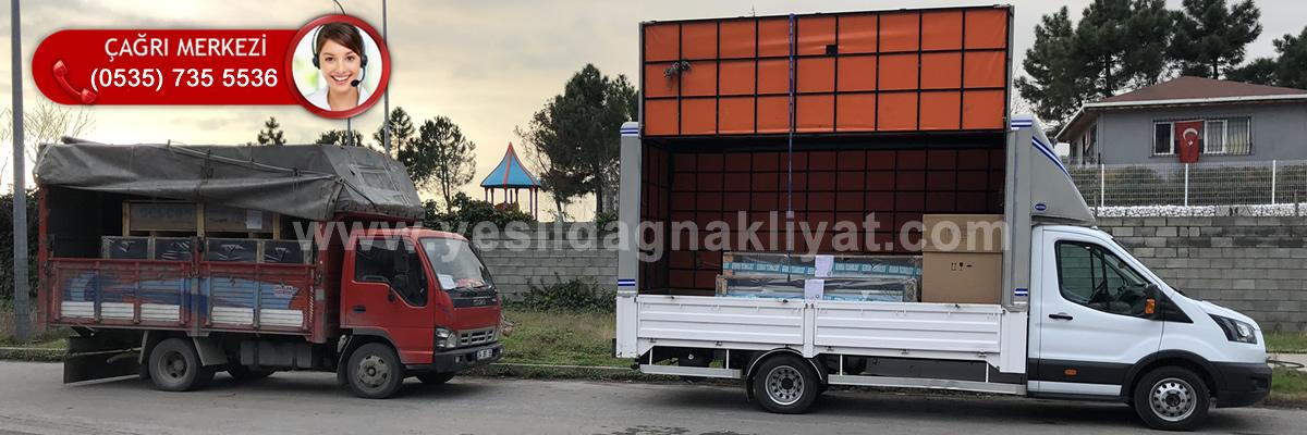 Arnavutköy Ankara Nakliyat Ambarı Araçları