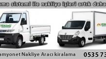 İstanbul Kamyonet Nakliye Kiralama