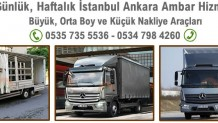 Bayrampaşa Ankara Nakliyat Ambarı
