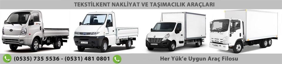 Tekstilkent Nakliyat ve Taşıma Araçları