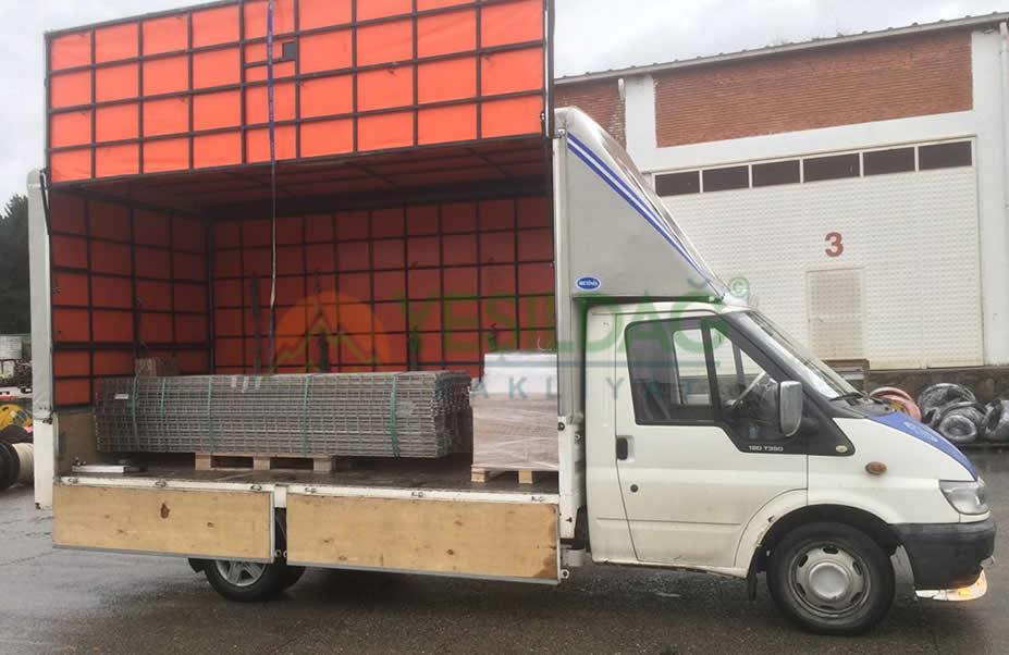 Karaköy Yük Nakliyat Aracı İle Paletli ve Paletlsiz Malzeme Transferi