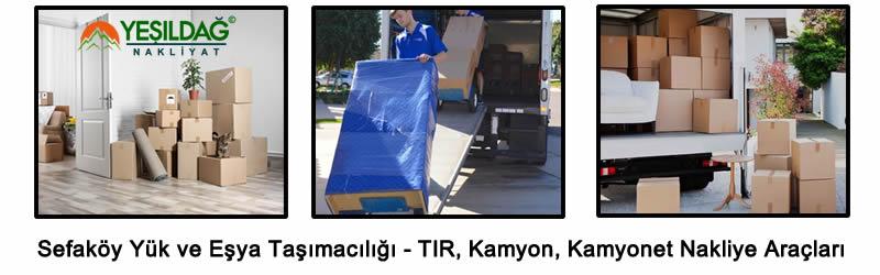 Sefaköy Nakliyat - Yük ve Eşya Taşımacılığı - Resim 1