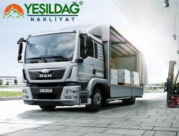 Hadımköy Ankara Ambar Nakliyat Hizmeti İle Paletli Malzemeyi Forklift İle Adrese Teslim Ederken.