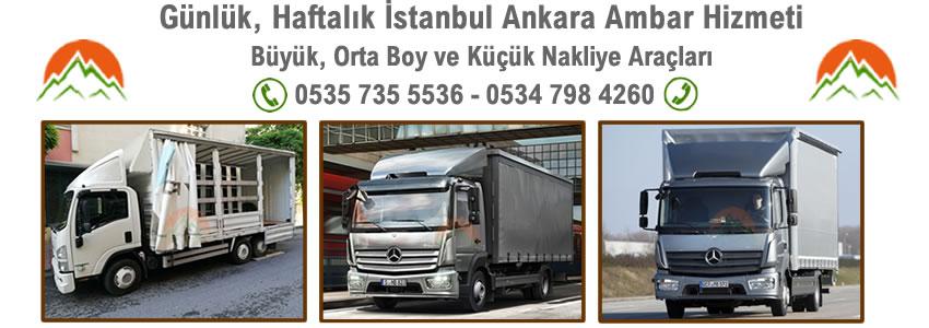 Bayrampaşa Ankara Nakliyat Ambarı - Resim 1
