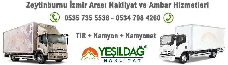 Zeytinburnu İzmir Nakliyat Ambarı Araçları - Nakliye Firması