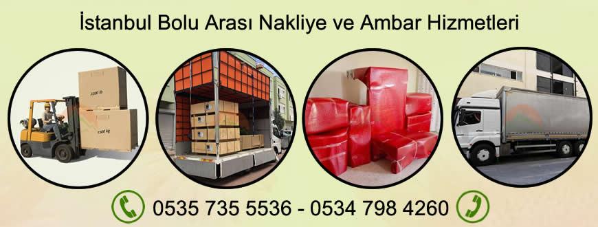 İstanbul Bolu Nakliyat Ambarı Hizmetleri - Yük ve Eşya Taşımacılığı